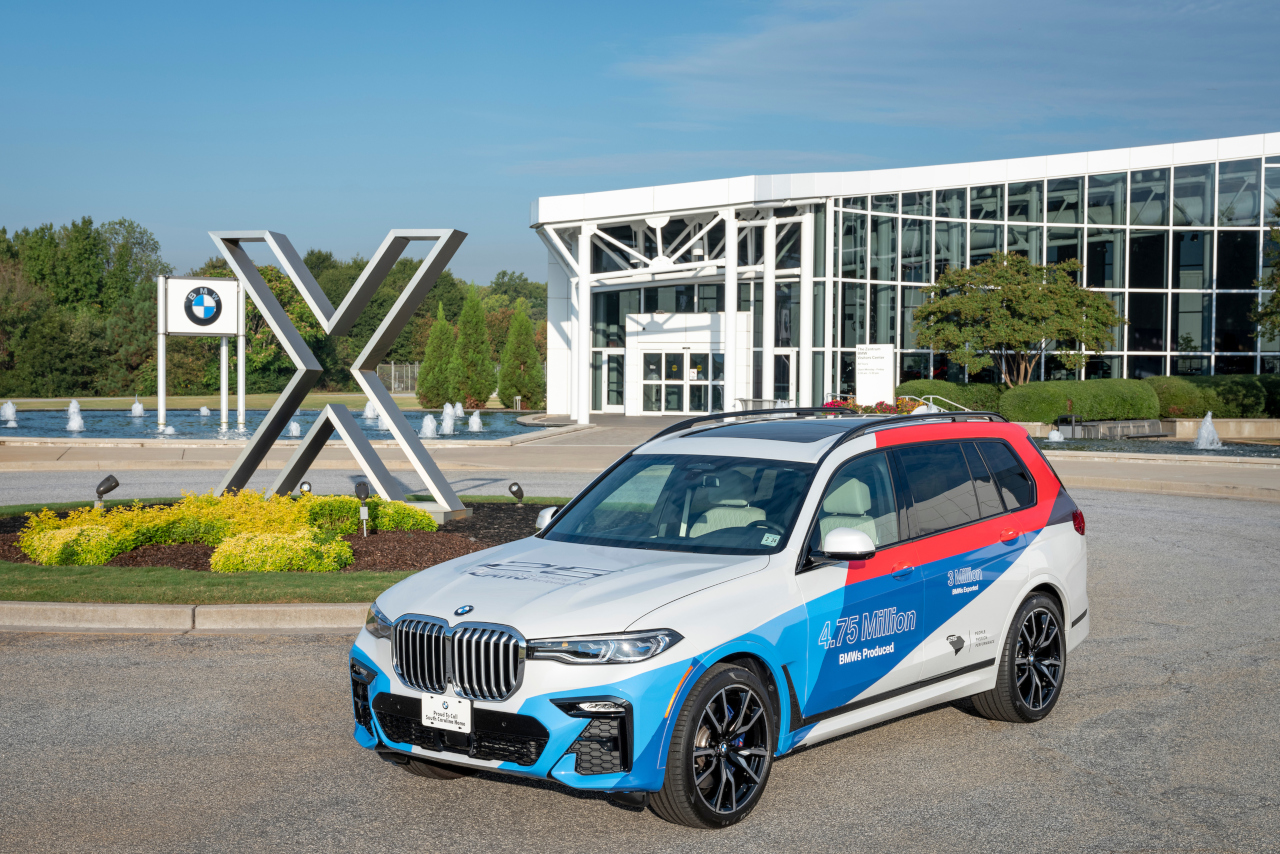 BMW Plant Spartanburg >> Bmw Manufacturing Celebrates 25 Years Of Production In South