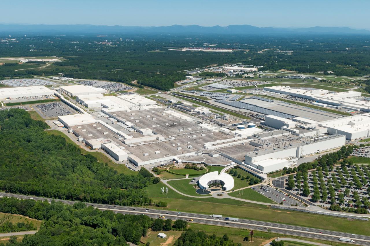 BMW Plant Spartanburg >> Plant Spartanburg