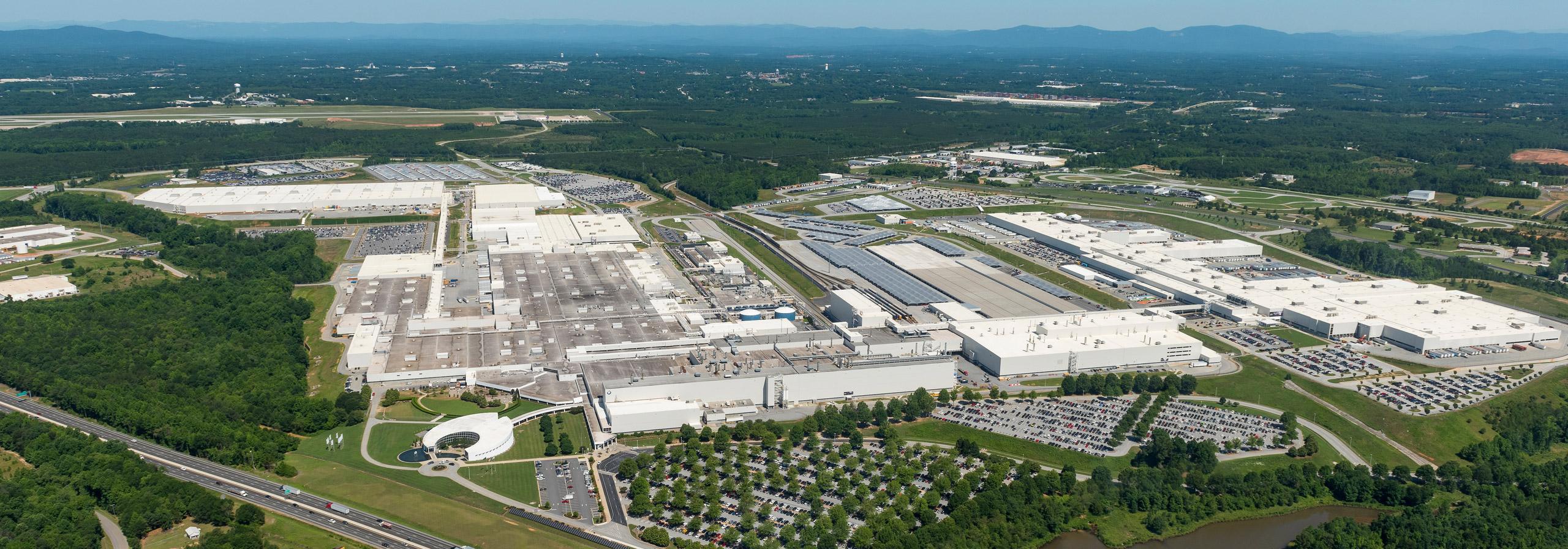 BMW Plant Spartanburg >> Production